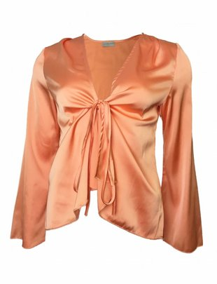 Never Fully Dressed Kasia Salmon Blouse
