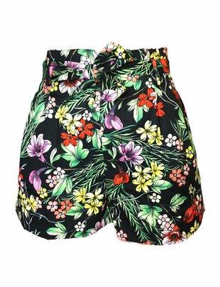 Highwaist Floral Shorts