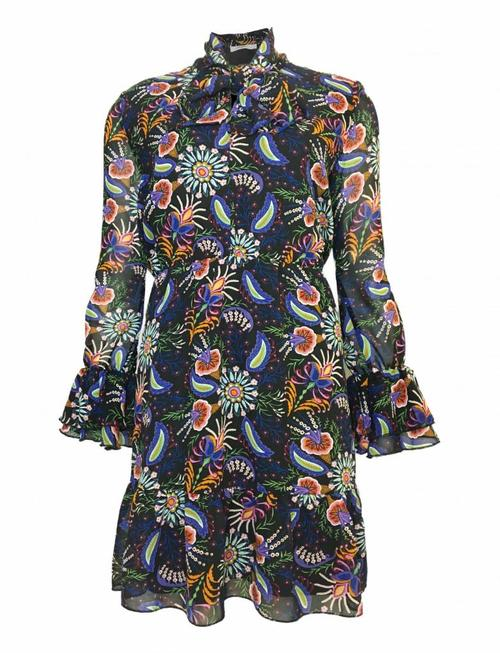 Paisley Purple Dress