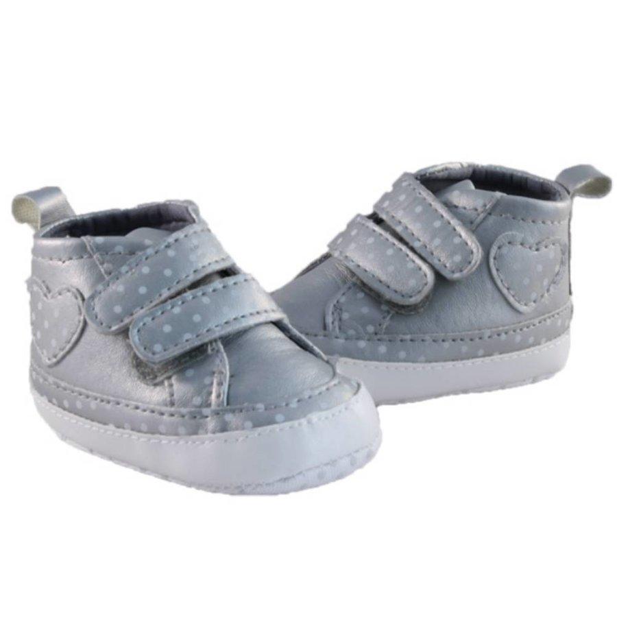 Sneaker Dot Zilver-1