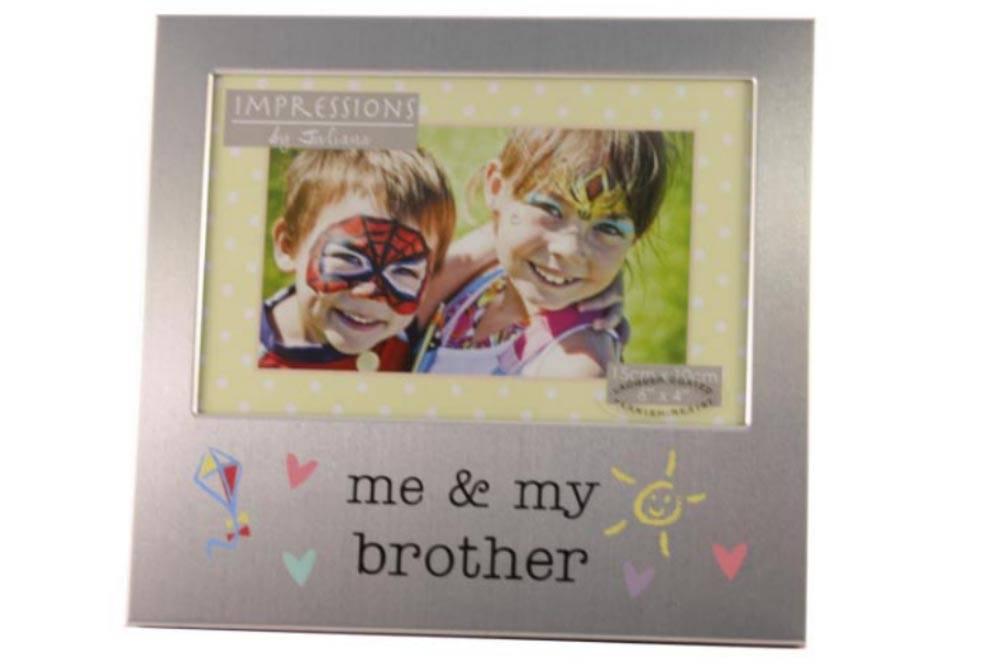 Fotolijst Me My Brother Voor De Baby Met Grote Broer Bornbasket