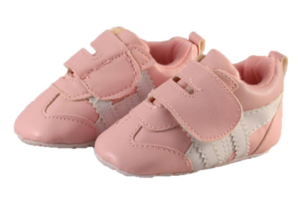 Soft Touch Sneaker Stripe Roze
