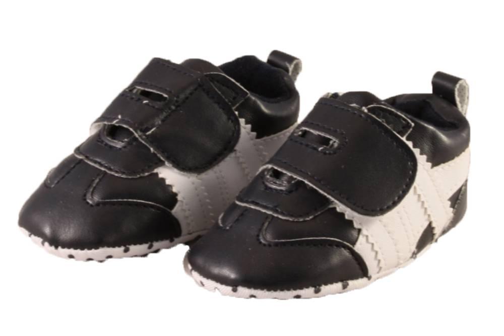 Soft Touch Sneaker Stripe Zwart