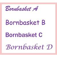Baby Badjas roze met naam