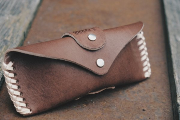 Dark Roast Leather Case - DOOOS