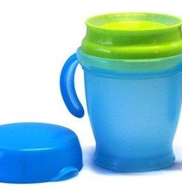 Mykko Kiddbyboo Anti-Mess Cup Azur/Lime