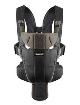 Babybjorn Babybjorn Draagzak Miracle - black/brown
