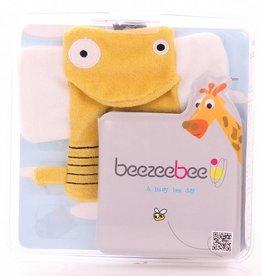 Beezeebee Beezeebee Bath book + wash cloth