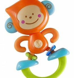 B Kids B Kids Rattle & Teether Bebee Monkey