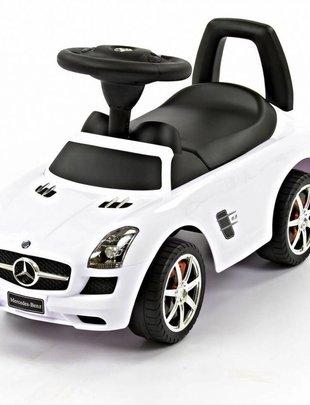 Happy-Car Happy-Car Loopauto Mercedes SLS White