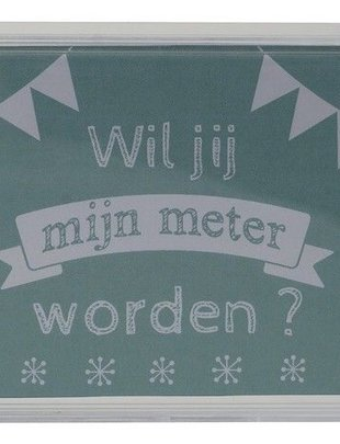 """Minimou Minimou Spaarpot """"Wil Jij Mijn Meter Worden""""?"""