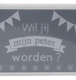"Minimou Minimou Spaarpot ""Wil je mijn peter worden""?"