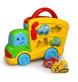 B Kids B-Kids Puzzle Truck