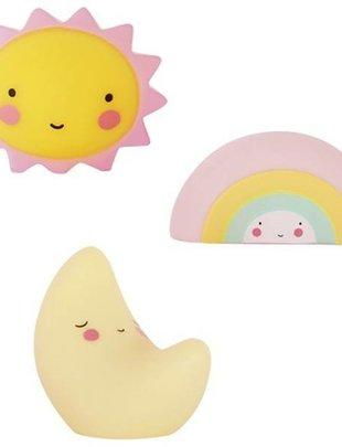 A little lovely company A Little Lovely company mini moon - rainbow - Sun