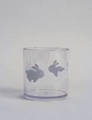 Buddy and Bear Buddy and Bear plastic glas hoppy bunny
