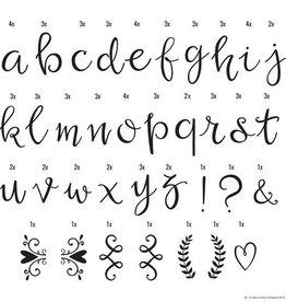 A little lovely company A Little Lovely Company Letter set Scripts