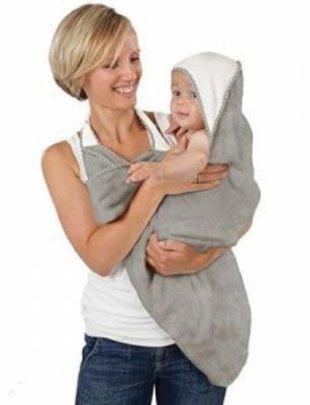 Cuddledry Cuddledry handdoek bamboo grey