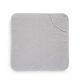 CamCam Cam Cam Hooded Wave Towel Grey 80 x 80 cm