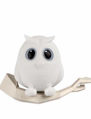 Euromass Owl Oscar White Draagbaar Muurlampje