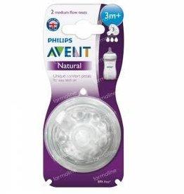 Avent Avent Natural Zuigspeen 3m+