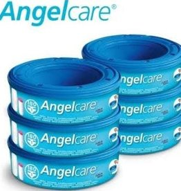 Angelcare Angelcare navulcassettes luieremmer (in 6-packs)