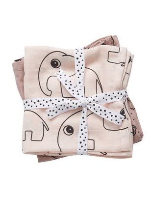 Done by Deer Done by Deer Swaddle 2-Pack Contour Powder