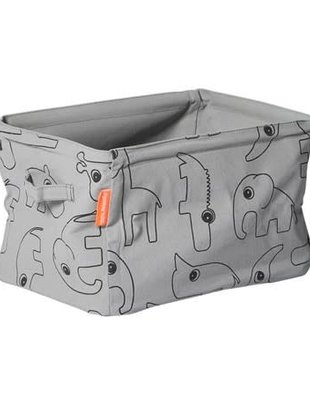 Done by Deer Done by Deer Soft Storage Doublesided Grey