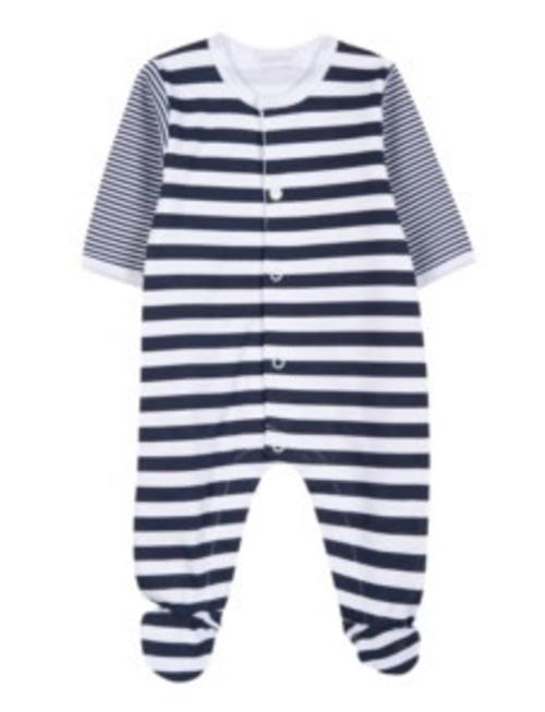 Absorba Absorba Pyjama Ligne Marin Marine