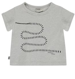 Imps & Elfs Imps & Elfs T-shirt Grey Melange