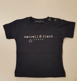Manuell & Frank Manuell & Frank T-shirt Blue