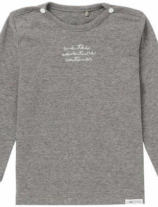 Noppies Noppies T-shirt Puck Antracite Melange