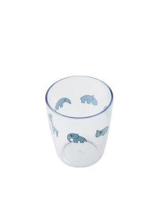 Done by Deer Done by Deer, Yummi Mini Glass, Blue