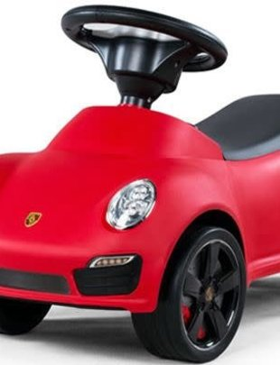 Euromass Happy-Car Loopauto Porsche Rood
