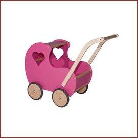 Van Dijk Toys Poppenwagen klassiek model