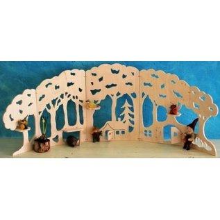 De Noest Decoratieve houten Bosrand - groot
