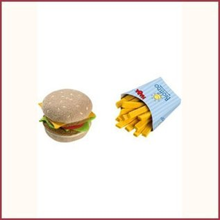 Haba Hamburger met frietjes