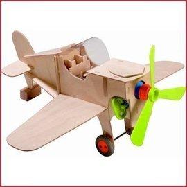 Haba Terra Kids knutseldoos Vliegtuig
