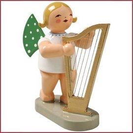 Wendt & Kühn Grunhainichense Engel met harp