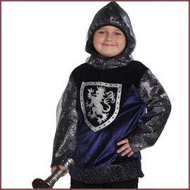 Trullala Verkleedset Ridder Sir Gallahad blauw/zilver