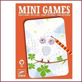 Djeco Mini Games - Verbind de puntjes