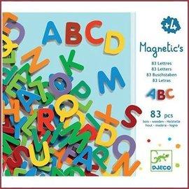 Djeco Houten magneten - Letters