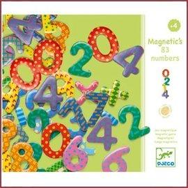 Djeco Houten magneten - Cijfers
