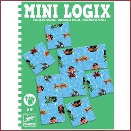 Djeco Mini Logix - Onmogelijke puzzel Piraten