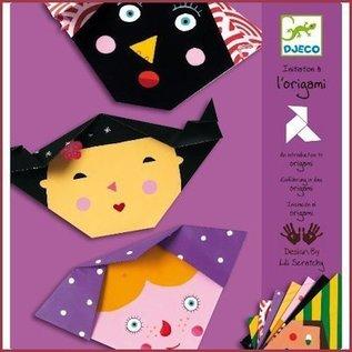 Djeco Knutselset Origami Gezichten