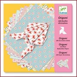 Djeco 100 vellen Origami papier