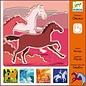 Djeco Sjablonen Paarden
