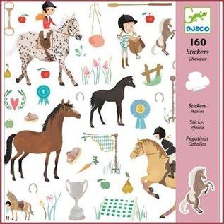 Djeco Stickers Paarden