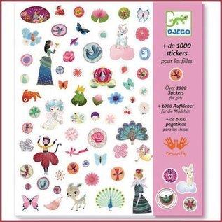 Djeco 1000 Stickers voor meisjes