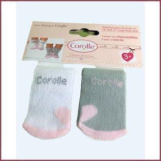 Corolle Set van 2 paar sokjes voor babypop (36 cm)
