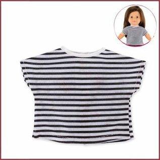 Corolle Gestreept t-shirt voor Ma Corolle poppen (36 cm)